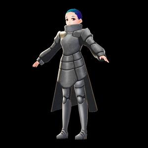 【VRoid用テクスチャ】ファンタジー騎士風の鎧