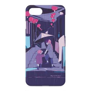 雨の日夜兎兄妹iPhoneケース