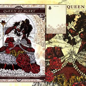 不思議の国のポストカード TEAM-QUEEN