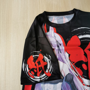 紙代なつめフルグラフィックTシャツ