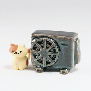【値下げ】エアコン室外機フィギュア【ヒスイ】