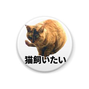 猫飼いたいバッジ