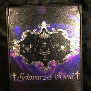 †Schwarzes Kleid† サークルエンブレム入り ミラー