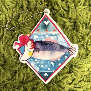ノリちゃんFish/アクリルキーホルダー