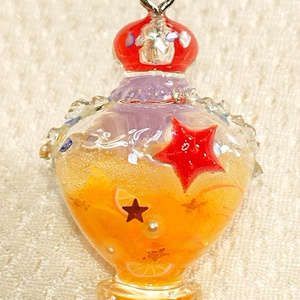 クラゲちゃんの魔法のボトル(柑橘ver)