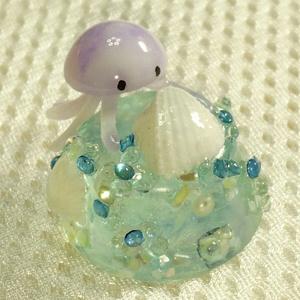 クラゲちゃんの海底探索 (紫)