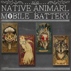 NEW ネイティブアニマル モバイルバッテリー