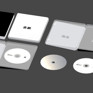 3Dモデル「Disk package」
