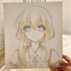 【刀剣乱舞】乱ちゃんラフ色紙