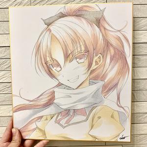 【まどマギ】杏子色紙