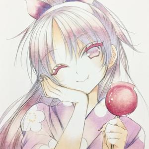 【まどマギ】杏子浴衣色紙