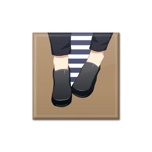 足元バッジ - 月岡紬