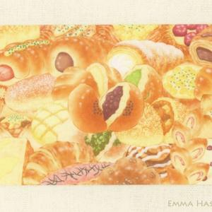 【SALE】ぎゅっとパン2★ICカードステッカー