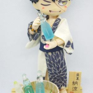 ミニチュア瓶ラムネ【ドール小物】※2019年初夏頃再販予定※