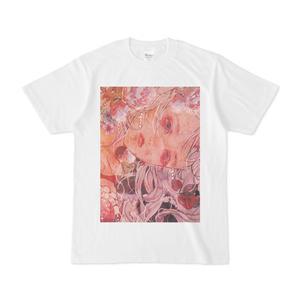 屍に映える華  Tシャツ