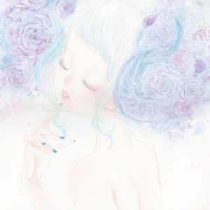 原画「儚い色」
