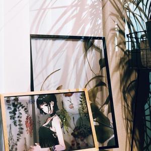 everlasting -flower- クリアポスター