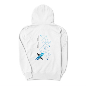 X enc'ount オフィシャル白パーカー(create a new possibility)