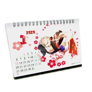 星影高校同人部:オリジナル卓上カレンダー