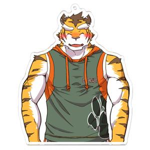 和虎(私服)アクリルキーホルダー