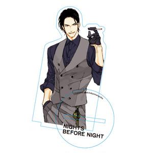 アクリルスタンド/ナツメカズキ「NIGHTS BEFORE NIGHT」【時雨】