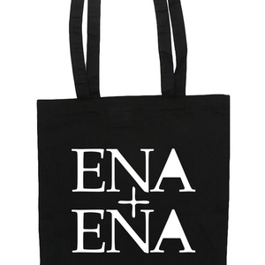 ENA+ENA ロゴデザイントートバッグ