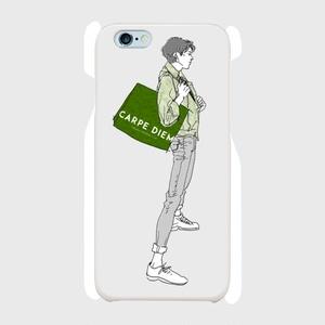 """Green"" いけめんファッショニスタ iPhone ケース"