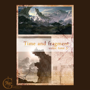 Time and fragment -color tone 5-
