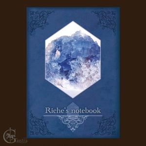 ミニ鉱物写真集 Riche's notebook