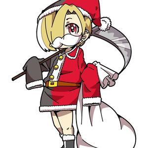 クリスマス小梅ちゃんアクキースタンド【表示価格に送料込】