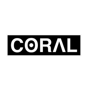 CORAL ロゴステッカー