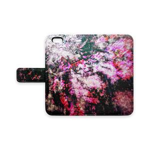 cluster amaryllis-iPhoneケース(手帳型)