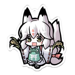 アクリルキーホルダー:大稲穀狐お豊(コンコレ)