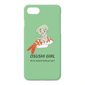 iPhone 8 / 7 ケース OSUSHI GIRL