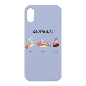 iPhone X ケース OSUSHI GIRL