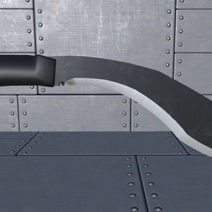 【INGY Knives vol.1】fbxモデル