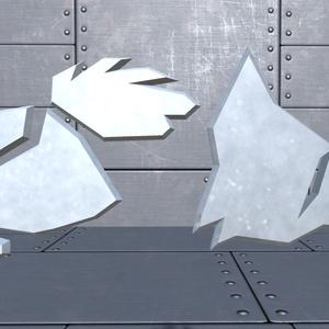 Emblem of Rooster & Fox 【Vortex Comics Official Collectibles】