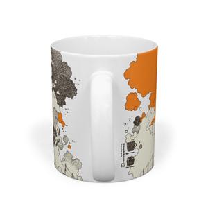 マグカップ-円筒の空を縫って