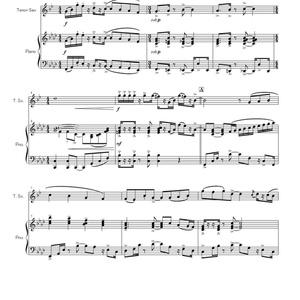 【テナーサクソフォンソロ曲】テナーサクソフォンとピアノのための小品