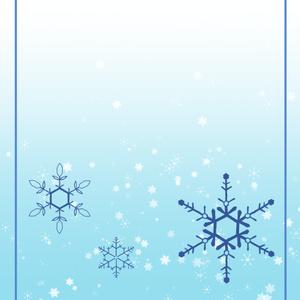 雪の結晶スマホリング