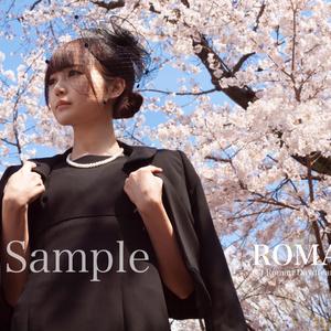 A4写真「春の別れ」2悲恋シリーズより