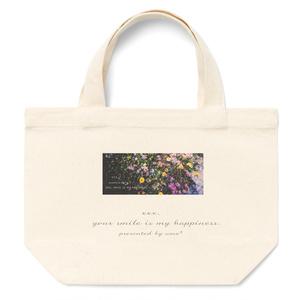 flower logo lunch-bag