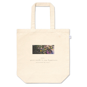 flower logo tote-bag
