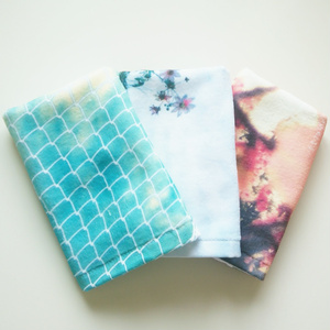color hand towel