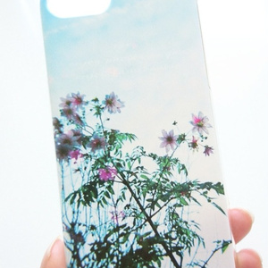 clear smartphone case  -opal sky-