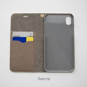Book type Smartphone Case -Aozora Denpatou- *No-Belt type