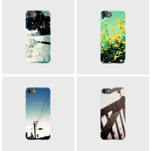 clear smartphone case  -shadow forest.-