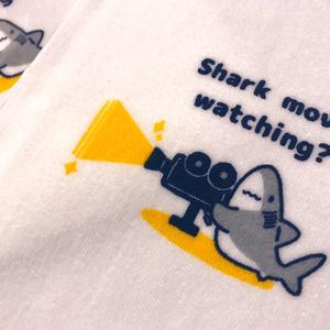 【コミティア127新作】サメ映画みてる?ミニタオル