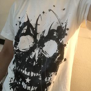 【Inc scull】ホワイトTシャツ by 巧-TAKUMI