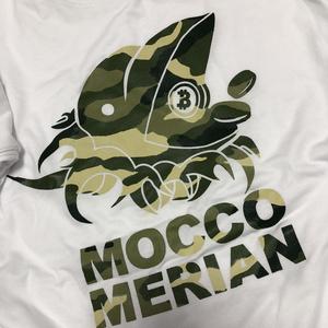 モッコメリアンロゴTシャツ(迷彩)